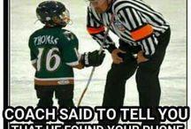 Funny hockey
