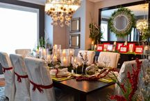 20 Christmas Decorating Ideas for the Table /  Christmas Decorating Ideas for the Table