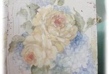 розы шебби