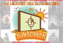 Cine #SunSCREEN / Reseñas de lo mejor del cine, lanzamientos, temas, te recomendamos películas del mundo, con un toque de risa y diversión #SunSCREEN en vivo viernes 1:00 p.m. en www.radioclick.com.mx