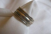 Rings for men. / Handmade silver rings for men.