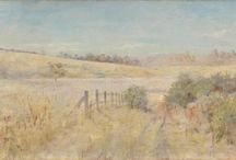 Jane Sutherland (In progress) / Jane Sutherland (26 December 1853 - 25 July 1928) was an Australian landscape painter who was part of the pioneering plein-air movement in Australia, and a member of the Heidelberg School. Her advocacy to advance the professional standing of female artists during the late nineteenth century was also a notable achievement.