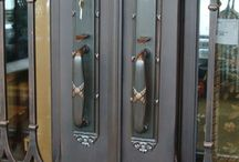 Hardware / Tuscan Iron Entries proudly features top of the line Emtek Hardware on our custom doors.