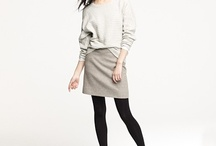 Knit Tops and Skirts