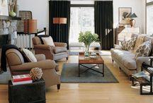 living rooms / by Jennifer Ciarletta