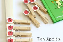 Preschool Theme :: Apples / Plan a preschool unit on apples with the help of this board! Great resource for fall and back-to-school.