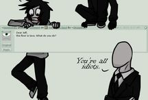 Creepypasta / I'm not much of a creepy pasta fan but I'm always trying to find a new fandom :3