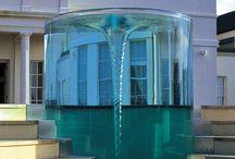 Водные сооружения, фонтаны и аквариумы.
