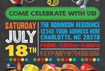 Paw Patrol Party Ideas / Paw Patrol party ideas, kids birthday party ideas, themed birthday party.