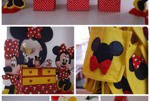 ideias festa Minnie e Mickey