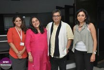 WWI Masterclass with Meghna Gulzar and Priti Shahani / It was an immensely insightful masterclass with the director of the film, Talvar, Meghna Gulzar, and co-producer, Priti Shahani.  At this #WWIMasterclass, Meghna Gulzar shared insight on the creative aspects of filmmaking, wherein she talked about directorial nuances.  Priti Shahani shared insight on the commercial aspects of the film that can be categorised as a real, relatable and experimental film. She shared her views on how the audience is changing and are up for realistic films.