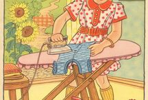 Iron on Tuesday / Who needs a therapist when one can iron? I love to iron. nk / by Nancy Kelly