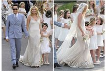 Vestidos de novias Famosas / Inspiraciones para la difícil elección del vestido para ese día tan especial :)