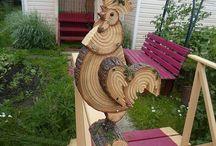 Fából figurák
