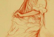 Dibujos sangina