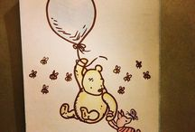pooh bear and friends