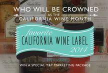 California Wine Month 2014 Favorite Wine Label Contest / In celebration of California Wine Month this September, we're hosting the 2014 California Wine Label Contest!   Anyone may participate. See FULL details here: bit.ly/CAwinelabelcontest2014