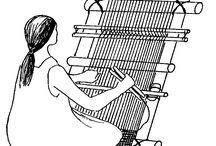 Weaving and DIY looms / by Stephanie Nichols Bateman