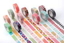 WASHI TAPE / Todo tipo de manualidades y decoración a base de celo japonés.