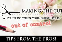 Wedding Tips / Who better to ask for wedding tips than those who coordinate and execute weddings on a weekly basis? Take a look at some of what we think are the most important tips to remember when planning your special day.