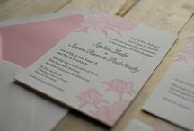Inspiration for Wedding invitation, place cards etc.