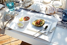 GRILOVÁNÍ / Porcelán, sklenice, džbány, svícny - vše co potřebujete ke grilování ve velkém stylu na www.luxurytable.cz