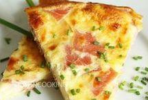 Cuisine :tartes et quiches salées