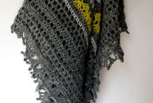 Crochet - Scarves & Shawls / by Julie Keesee