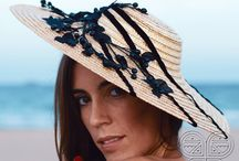 Headpieces / Ideal headpieces for a wedding reception in the sun