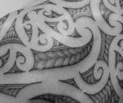 Maori tattoo's