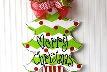 Christmas Decor Crafts Galore / handmade for the home / by Carole Farber