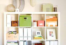 Organizing / by Alice Renee