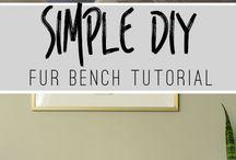 DIY / Få inspiration til gør-det-selv-projekter og design dit hjem lige efter din egen smag!