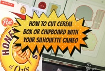 Silhouette Cameo Tips, tricks and projects