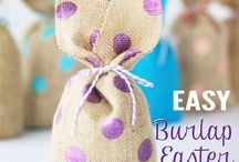 Easter Crafts / A board full of Easter crafts for kids and adults.