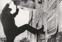 """Jacques Villeglé / The French artist and """"affichiste"""" who tore down posters from the walls of Paris"""