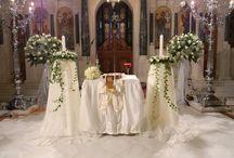Αγ.Κωνσταντίνος Γλυφάδα / Ανθοστολισμός και διακόσμηση γάμου - βάφτισης στον Αγ.Κωνσταντίνο στην Γλυφάδα