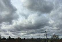 #Wetter #wolkig Das war das schöne Wetter für heute