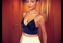 Petite Fashionista - Nicole Richie / The petite designer, standing at 5'0' tall never disappoints.