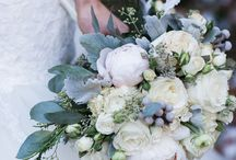 Inspiracie - Zimba svadobna kytica/ Insiration - Winter Wedding Bouquet