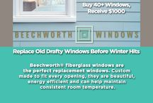 Beechworth Windows / Materials and windows are carefully crafted in the United States. We have pultrusion and assembly plants in Wisconsin, both wholly owned and operated by James Hardie Building Products. Manufacturing is supplemented with extensive R&D capabilities in Naperville, IL.