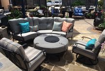 Our Abilene Showroom / Here are some of the items we currently have or have had in our Abilene Outdoor Showroom | See us today about getting your outdoor space completely outfitted | extreme-exteriors.com