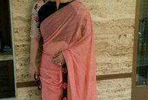 sarees / Vibrant with elegance