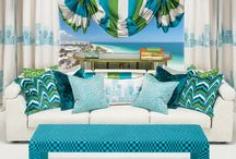 Zinc Textile / #decoracion #hogar #zinc #zinctextile #telas #cojines #cortinas