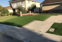 Before & After #syntheticlawn installation