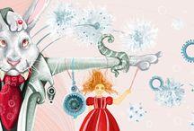 Alice in W:Maryna Rudzko / Alice in wonderland (illustrator)