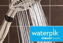 High Performing High Style Shower Heads / Waterpik Showers high-performance, high-style shower heads offer an affordable way to breathe new life into any bathroom. / by Waterpik Showers