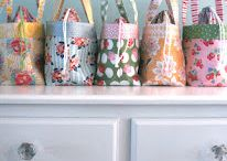 Sewing bags, boxes, totes & pouches