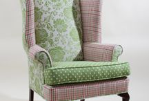 Upholstered Chairs Refurbished / by Celine Vokins
