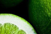 зелёное